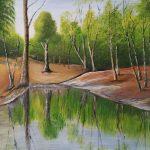 Acrybild Bäume